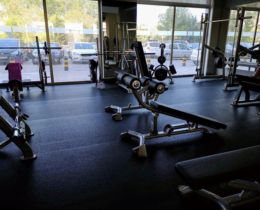 Sala de Exercícios - EVOC health club