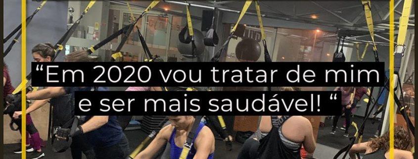 """""""Em 2020 vou tratar de mim e ser mais saudável"""""""